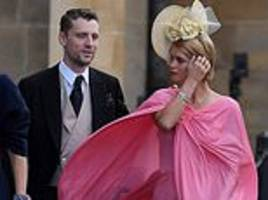 Princess Eugenie's wedding: Pixie Geldof is the first star to arrive as she sports caped gown