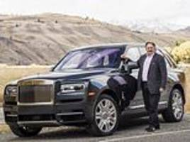 ray massey: the £250,000 off-road rolls royce makes its entrance at the royal wedding