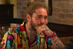 post malone squires jimmy fallon to his favorite restaurant, olive garden (video)