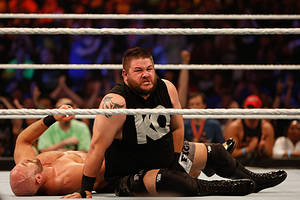 wwe's kevin owens out of facebook watch's 'mixed match challenge' season 2 due to injury