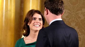 Princess Eugenie wedding: Well-wishes gather for ceremony