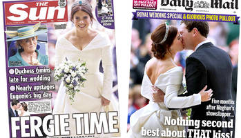 The Papers: 'Fergie time' in Windsor and 'that kiss'