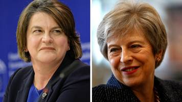 Tory-DUP war of words over Brexit intensifies