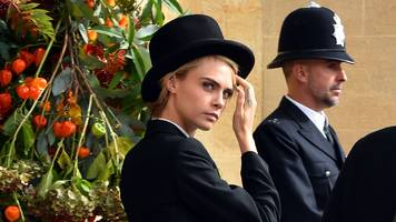 cara delevingne's top hat and other royal wedding moments