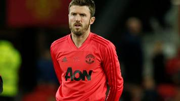 michael carrick: man utd coach glad he opened up about feelings