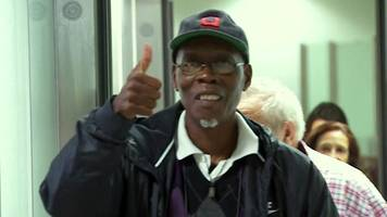 Windrush generation: Back home after 25 years