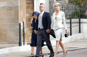 Ayda Field risks Royal wrath with outfit choice at Eugenie's wedding