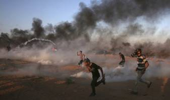 At Least Six Palestinians Killed By Israeli Forces During Gaza Protests Near Security Fence
