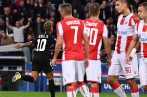 investigation launched into psg's 6-1 win over red star belgrade after allegations of match fixing