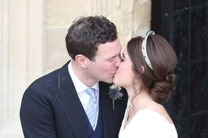 Princess Eugenie and Jack Brooksbank tie knot at star-studded royal wedding