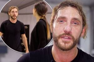 seann walsh apologises to angry katya jones as he makes another mistake in strictly training after 'difficult week'