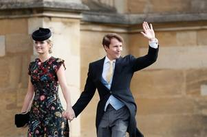 all the celebrity guests spotted at princess eugenie's royal wedding