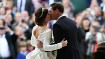 Celebs join Royals at Princess Eugenie's wedding
