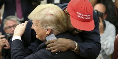 Stars react to Kanye West's meeting with President Trump, call it 'hell on earth'
