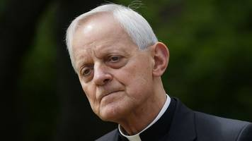 pope accepts donald wuerl's resignation as washington dc archbishop