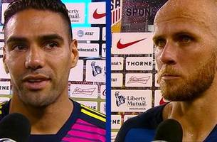 Hear from Radamel Falcao and Michael Bradley after Colombia's 4-2 win over the United States