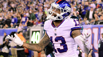 Giants Coach Shurmur Explains Why Beckham Walked Off in First Half With Offense on Field