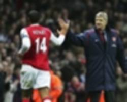 wenger: henry has everything to succeed at monaco