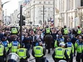 March by 'Democratic Football Lads' Alliance' turns violent as marcher yells 'I'll kill you'