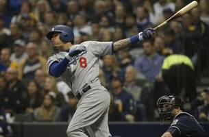 manny machado drives in first run of nlcs with solo home run