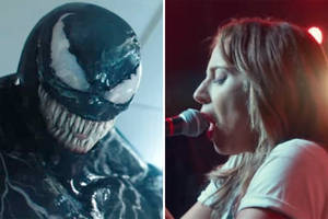 'venom,' 'a star is born' continue reign atop box office charts