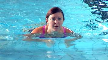 Swimming 'helped me overcome depression and anxiety'