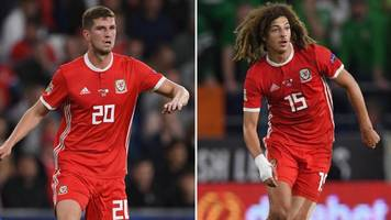 Nations League: Ethan Ampadu and Chris Mepham out of Republic match