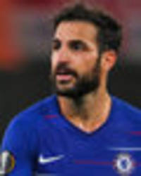 chelsea star cesc fabregas could leave for free: atletico madrid keen on midfielder