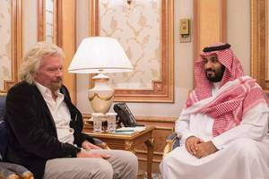 Richard Branson suspends Saudi Arabia's investment in space ventures over missing journalist