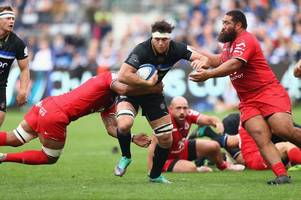 Bath Rugby Player Ratings - Louw the breakdown boss against Toulouse, Burns suffers from late mistakes