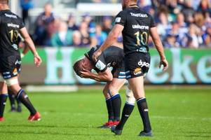 the nightmare moment freddie burns dropped an absolute clanger for bath rugby against toulouse