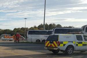 Stansted Airport 'medical emergency' sees air ambulance, fire fighters and police descend