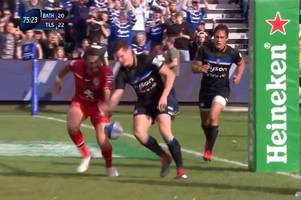 the embarrassing freddie burns howler that cost bath victory in the dying moments of toulouse clash
