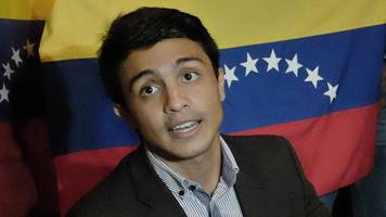 venezuela 'frees lorent saleh amid suicide concerns'