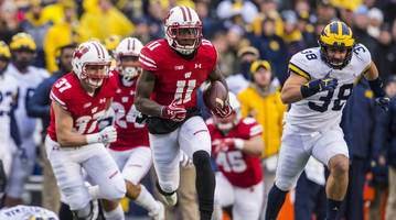 How to Watch Wisconsin vs. Michigan: Live Stream, TV Channel, Time