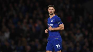 west ham join race to sign out of favour chelsea defender gary cahill in january
