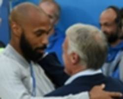 henry has everything to be a success at monaco, says deschamps