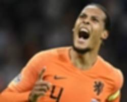 liverpool left sweating over van dijk injury as he withdraws from netherlands duty
