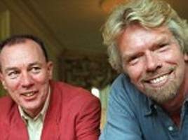 Billionaires Sir Richard Branson and Stagecoach founder Sir Brian Souter share £52m rail payout