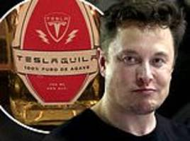 Elon Musk announces 'Teslaquila is coming soon' as Tesla filed trademark application for tequila