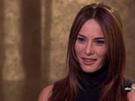 melania trump predicts to abc what kind of first lady she will be while dating donald trump in 1999