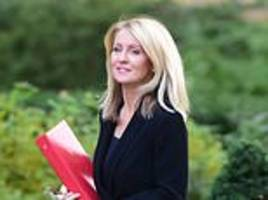 pensions secretary esther mcvey warns cost of building hs2 could now double to £100billion