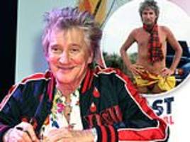 rod stewart had 'secret cancer scare' after doctors discovered a lump