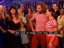 bbc subtitles make a very awkward blunder after strictly's seann walsh and katya jones' charleston