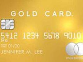 New £3,000 credit cards made of REAL 18-carat gold