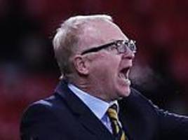 alex mcleish in defiant mood as he insists he is the man to turn scotland's fortunes around