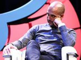 pep guardiola dismisses claims that manchester city are favourites to win champions league