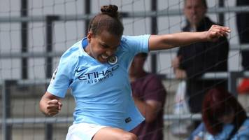 man city women hit seven in thumping win over west ham