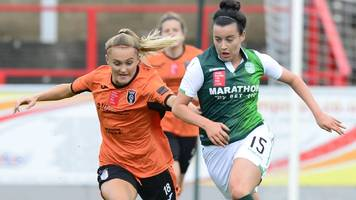 treble-chasing hibs reach women's scottish cup final