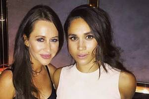 why meghan markle will bring best friend on royal tour with husband harry